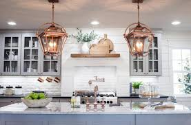 glass kitchen pendant lighting in ball shape with modern interior