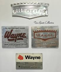 old kenworth emblem wayne bus front emblem nameplate badge and builder data