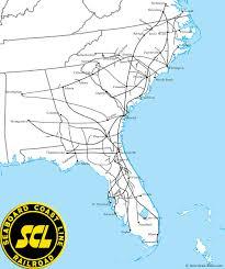 Map Of Florida Please by The Seaboard Coast Line Railroad Railroad Maps Pinterest
