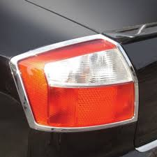 audi a4 tail lights 02 05 audi a4 sedan abs tail light bezel restyling ideas