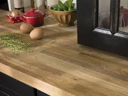 cuisine plan de travail bois plan de travail en bois choix et entretien côté maison