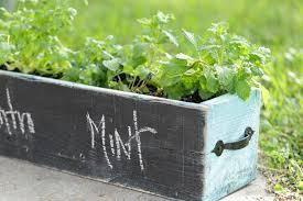 Diy Herb Garden Diy Herb Box Live Simply