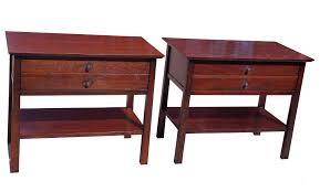 hickory chair side tables 2 hickory chair co large side tables nightstands abqresale