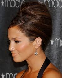 jennifer lopez beehive updo hairstyle