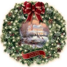 kinkade wreaths unique decorations