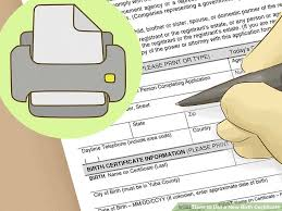 how to get a new birth certificate with pictures wikihow