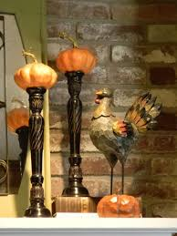 decorations easy and inexpensive thanksgiving mantel decoration