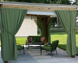 Ikea Outdoor Curtains Curtains Modern Outdoor Curtains For Pergola Ideas Of Show