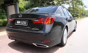 lexus sedan malaysia driven lexus gs 250 luxury u0026 gs 350 luxury previewed image 96049