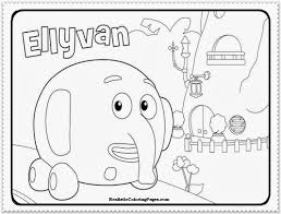 jungle junction coloring pages 10062