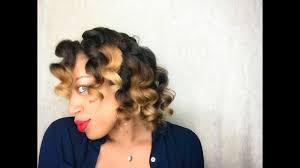 perm left to dry naturally on medium to long hair large perm rod set on dry natural hair part 2 youtube