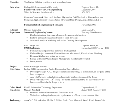 sle resume for civil engineering technologists unforgettableufacturing engineer sle resume industrial and get