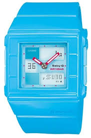 light blue g shock watch souq women s casio baby g shock resist light blue resin stopwatch