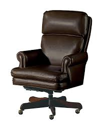 furniture awesome looks brown leather office chairs with