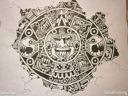 aztec calendar tattoo designs free tattoos book 65 000 tattoos