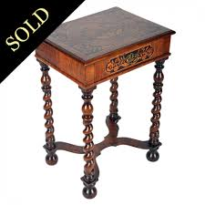 william and mary table antique walnut table william mary table antique inlaid table