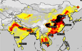 China Usa Map by Berkeley Earth Maps Available On This Website Study Air