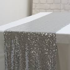 silver sequin table runner silver sequin table runner 2 75m the wedding of my dreams