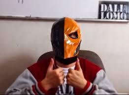Deathstroke Costume Dali Lomo Deathstroke Costume Mask Diy Cardboard Free Pdf Template
