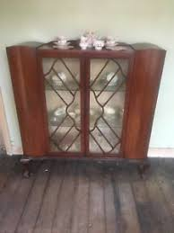 art deco china cabinet vintage art deco style display china cabinet bookcase bureau glass