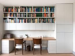 bureau bibliotheque bureau et bibliothèque intégrés menuiserie sur mesure conception