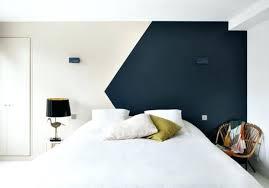 peindre une chambre avec deux couleurs peinture acrylique pour mur interieur choix couleur chambre
