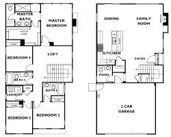 2 Car Garage With Loft 4 Bedroom Home With Loft At Serra In Vista Buy New San Diego