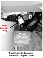 brake controller installlation 2013 toyota tacoma etrailer com