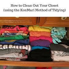 ask away how to tidy your closet using the konmari method