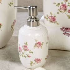 rosalie floral bath accessories by piper u0026 wright