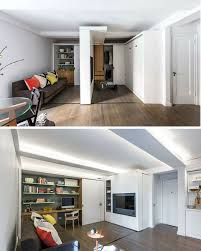 retractable walls for flexible living