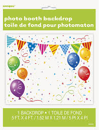 Photo Backdrops For Parties Amazon Com Plastic Party Photo Booth Backdrop 5ft X 4ft Kitchen