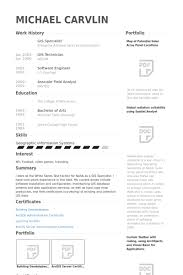 It Specialist Resume Sample by Gis Specialist Resume Samples Visualcv Resume Samples Database