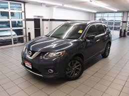 nissan rogue gas mileage 2016 2016 used nissan rogue fwd 4dr sl at landers ford serving little