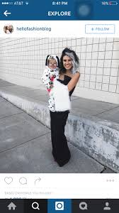 Dalmatian Halloween Costume Toddler Cute Mother Daughter Son Costume Hallows U0027 Eve