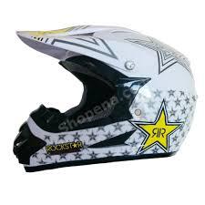 motocross helmet mohawk white rockstar helmet