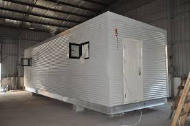 steel frame prefab modular homes mobile guard house for people
