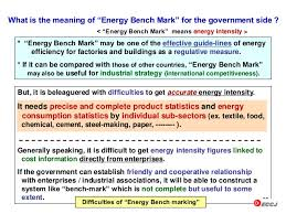 What Is The Meaning Of Bench Energy Efficiency Implementation In Japan