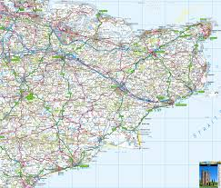 Map Of Kent England by Kent Offline Map Including Dover Folkstone Margate Broadstairs