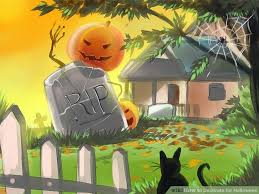 how to decorate home for halloween how to decorate for halloween 9 steps with pictures wikihow