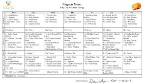 assisted living menu ideas meals key city assisted living