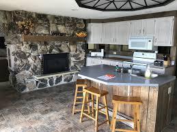 Lake House Kitchen by Lake House On Premium Lake Le Homme Dieu Bay Vrbo