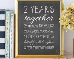 2 year anniversary gift 2 year anniversary gifts for boyfriend etsy