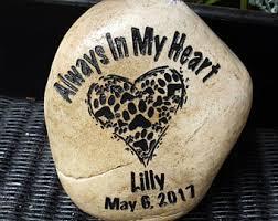 pet memorial stones pet memorial stones etsy