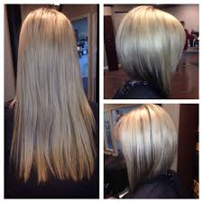 would an inverted bob haircut work for with thin hair before and after haircut gorgeous inverted bob our stylist work