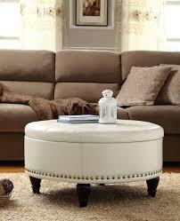 black leather ottoman coffee table coffee table footstool ottoman