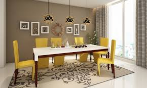 Buy Dining Chairs Online India Buy Classical Summery Dining Room Online In India Livspace Com