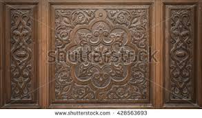 wood ornament door free texture