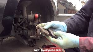 suzuki alto 7th generation front brake pads replacement youtube