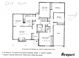 Split Level Floor Plans 1960s 100 Split Level Floor Plans 1960s 100 Four Bedroom House